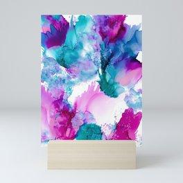 Cold Flowers Mini Art Print