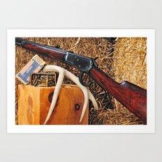 Winchester Model 92 Art Print