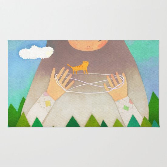 Forest giant Rug