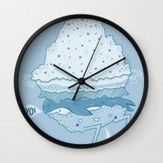 Iceburger Wall Clock