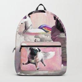 Pug Unicorn - Cute Funny Birthday Pugicorn Backpack