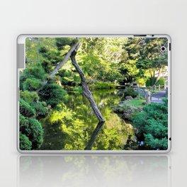 Japanese Tea Garden Lake Laptop & iPad Skin