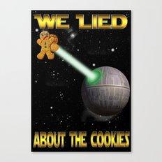 Death Cookies Canvas Print