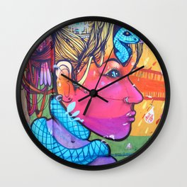 What Is On Your Mind Wall Clock