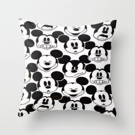 Mickey retrÒ Throw Pillow