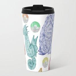 Pocket Monster Pattern Travel Mug