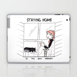 Staying Home Laptop & iPad Skin