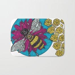 Believe in bees Bath Mat