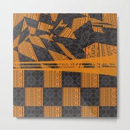 2in1 Pattern Mix, George Metal Print