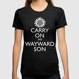 SUPERNATURAL CARRY ON MY WAYWARD SON T-shirt