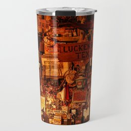 Luckenbach Texas Est 1849 Travel Mug