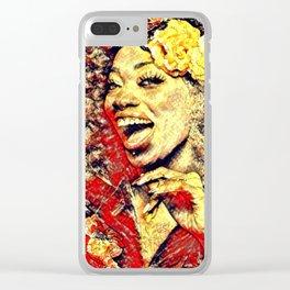 Ebony Joy Clear iPhone Case