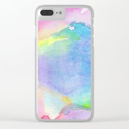 It Bleeds Around the Edges Clear iPhone Case