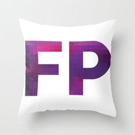 FALSE PERSPECTIV Throw Pillow