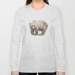 Penrose Tiling Bear Long Sleeve T-shirt