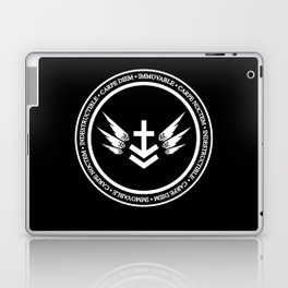 Immovable & Indestructible (White Design) Laptop & iPad Skin