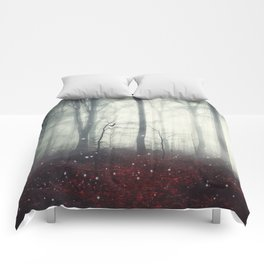 Spaces VII - Dreaming Woodland Comforters