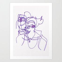 Disintegral #2744 Art Print