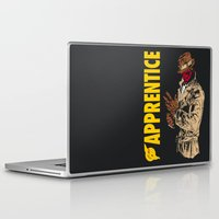 watchmen Laptop & iPad Skins featuring Darth Rorschach  (Watchmen/Star Wars mashup) by Pixhunter