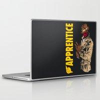 watchmen Laptop & iPad Skins featuring Darth Rorschach  (Watchmen/Star Wars mashup) by Pixhunter
