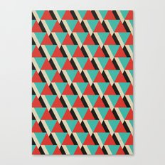 Retrospect, Triangle Duo, No. 04 Canvas Print