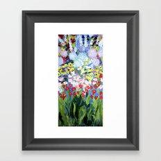then comes spring Framed Art Print