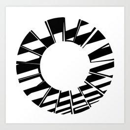Ring Map 5 Art Print
