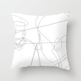 Enlightened me Throw Pillow