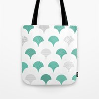 tokyo Tote Bags featuring Tokyo by Siphong
