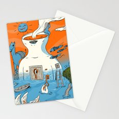 in and out Stationery Cards