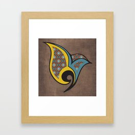 Persian Bird Framed Art Print