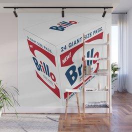 Brillo - the box Wall Mural