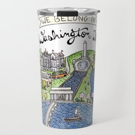 Washington DC Travel Mug