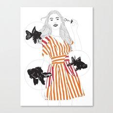 Blowfish #2 Canvas Print