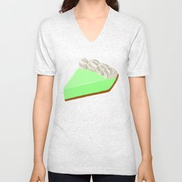 Piece of Key Lime Pie Unisex V-Neck