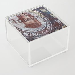West Virginia Tobacco Acrylic Box