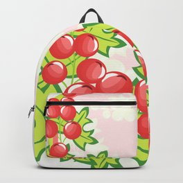 Frame from abstract berries Backpack