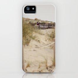 Walking In The Dunes iPhone Case
