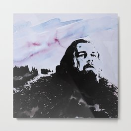Leonardo DiCaprio -The revenant 2 Metal Print