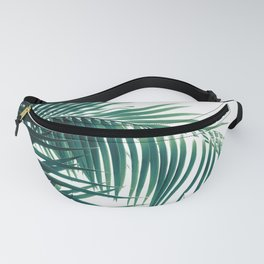 Palm Leaves Green Vibes #6 #tropical #decor #art #society6 Fanny Pack
