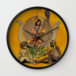 Isis - Egyptian Goddess, Mother to Horus and Patron to Artists and the Imprisoned Wall Clock