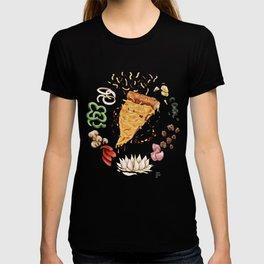 Pizza Mandala T-shirt