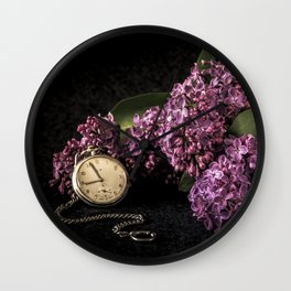 As time goes by Wall Clock