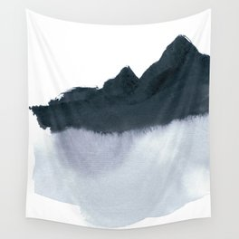 mountain scape minimal Wall Tapestry