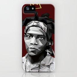 Geometric Basquiat iPhone Case