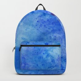 Mariana Trench Watercolor Texture Backpack