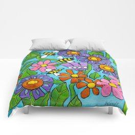 Springtime Series #4 Bee's Comforters