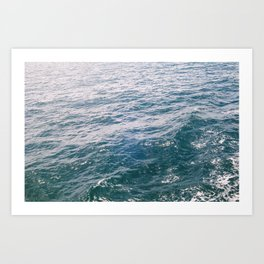 SEABRIGHT Art Print