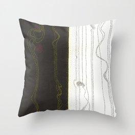 Evolutions - Beginnings Throw Pillow