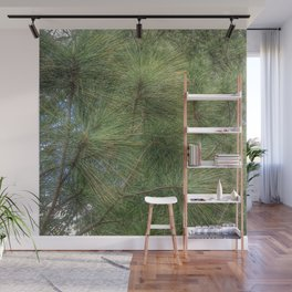 Lush Pine Needles Wall Mural